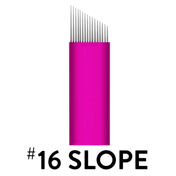 16 Slope - Pink Collection Microblade