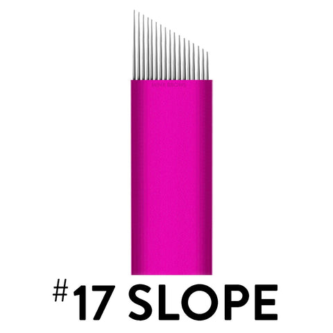 17 Slope - Pink Collection Microblade