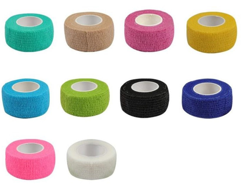 65% OFF 10 MINI ROLL RAINBOW PACK Hand Piece Wrap Device Grip Tape