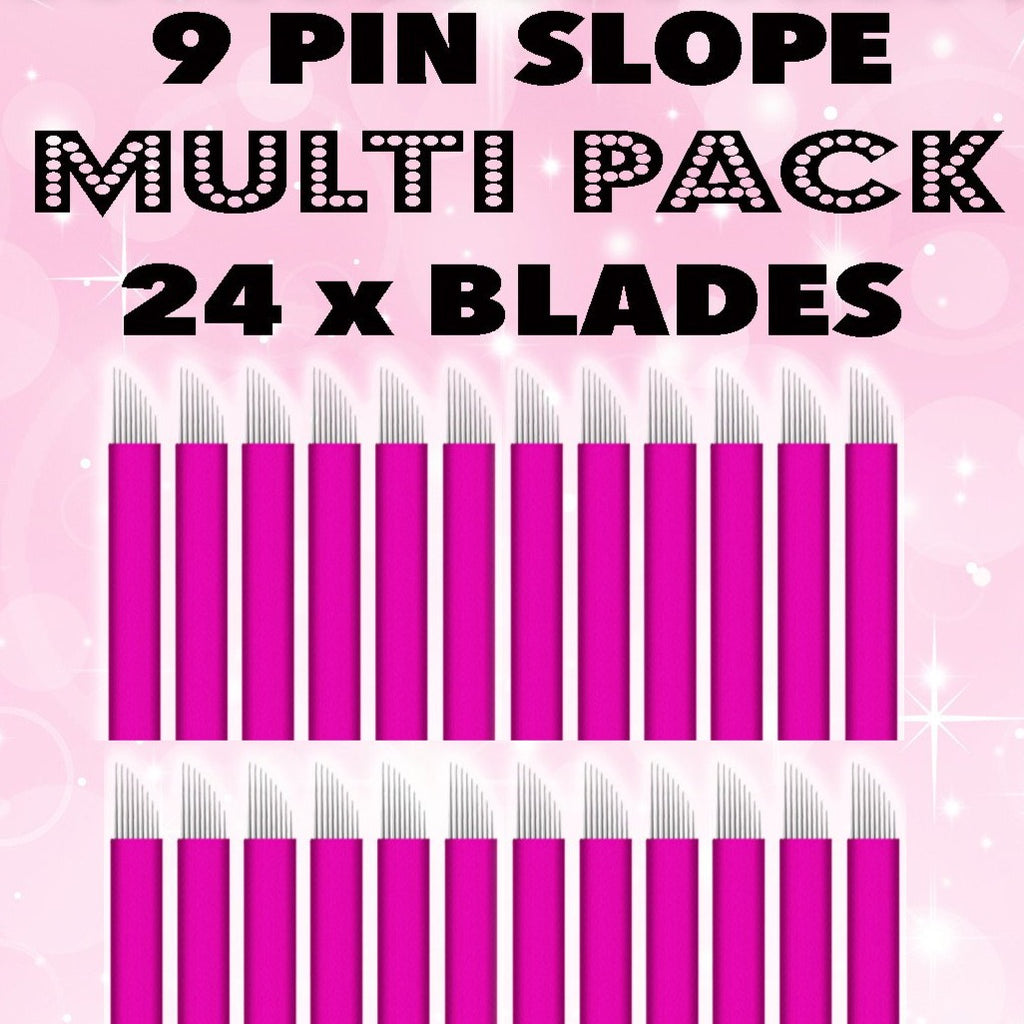 $1 BLADES! Pink Collection 24 Blade Multipack (SALE)