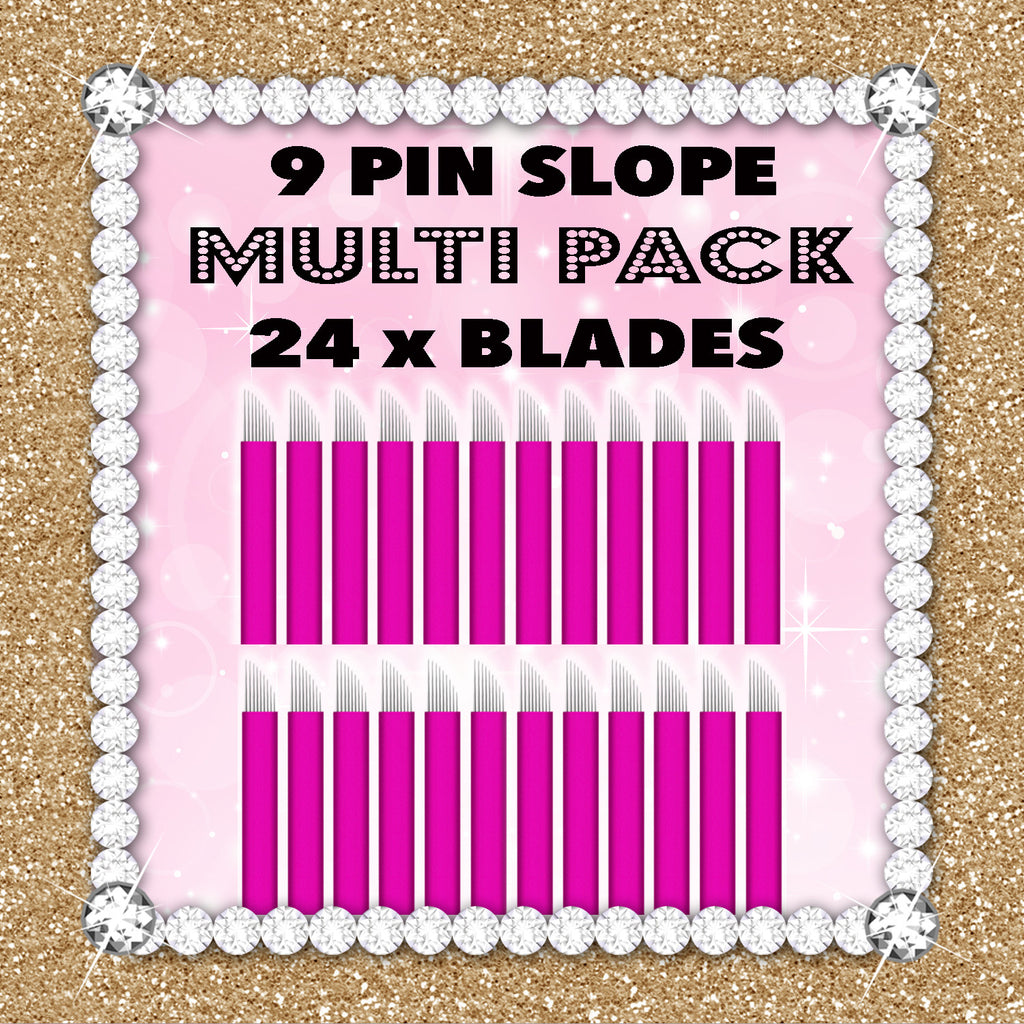 50% OFF Pink Collection 24 Blade Multipack