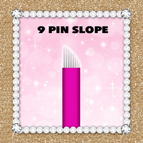 9 Slope - Pink Collection Microblade