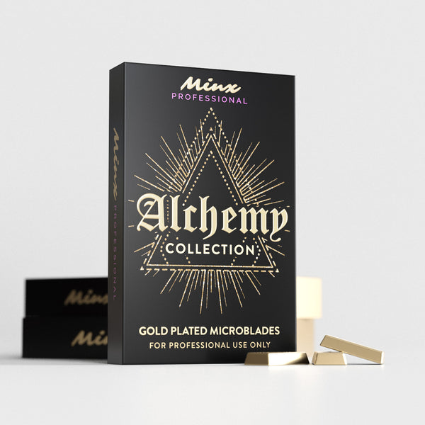 Alchemy Collection Gold Plated Microblades #14 Curve