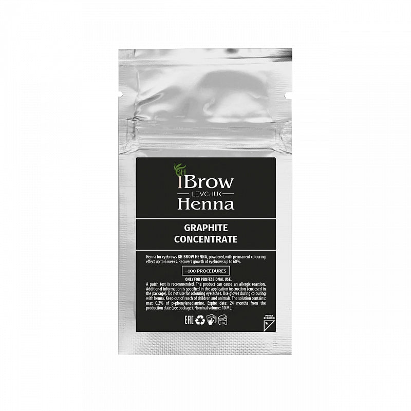 GRAPHITE CONCENTRATE - BH BROW HENNA