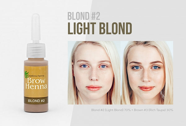 $50 OFF! BH BROW HENNA - BLONDES