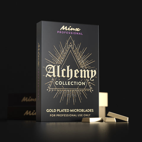 40% OFF Alchemy Collection Gold Plated Microblades