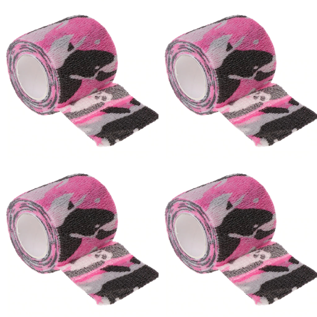 50% OFF PINK CAMO 4 Pack Hand Piece Wrap