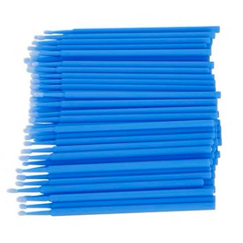 Blue Microbrushes