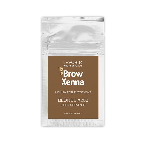BLONDE 3 - BH BROW HENNA Light Chestnut