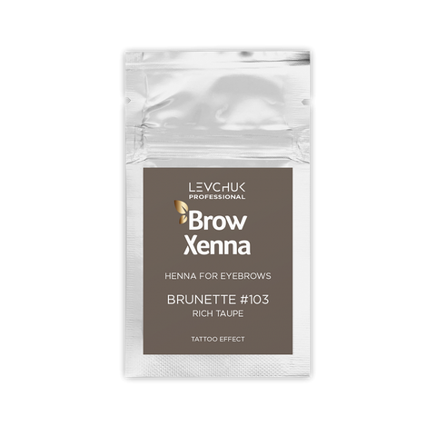 BROWN 3 - BH BROW HENNA Rich Taupe