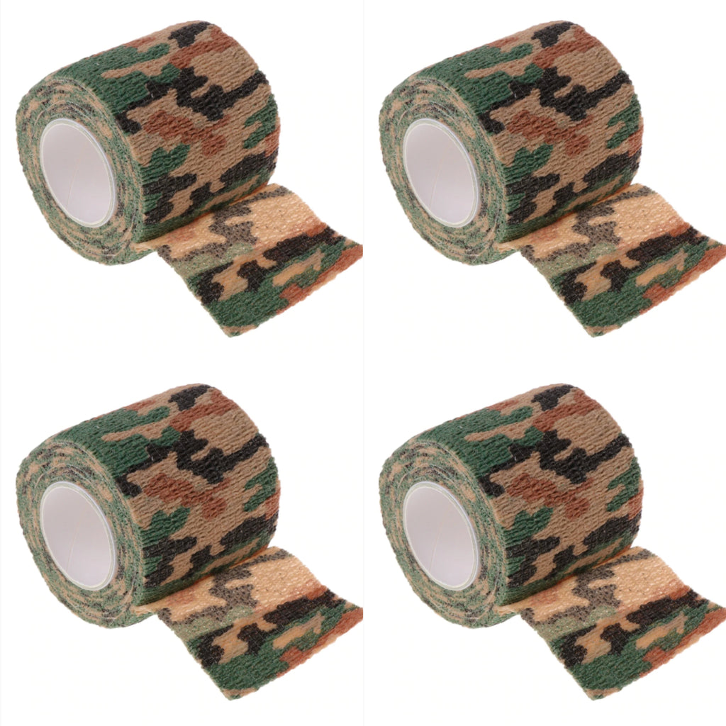 50% OFF CAMO 4 Pack Hand Piece Wrap