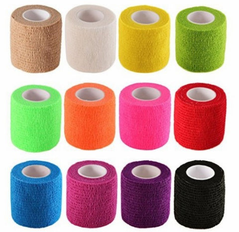 40% OFF 12 ROLL RAINBOW PACK Hand Piece Wrap Device Grip Tape