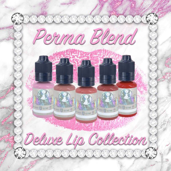 Perma Blend Deluxe Lip Collection Pigments Set of 5