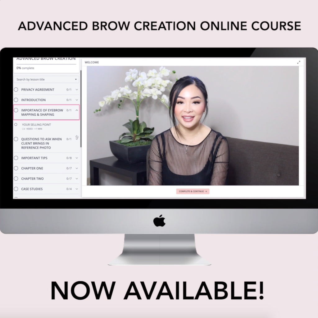 SAVE 15% OFF! Advanced Brow Creation Online Course - Permanent Beauty By Lili