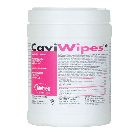 CaviWipes Disinfectant Wipes - 160 Wipes Large Canister