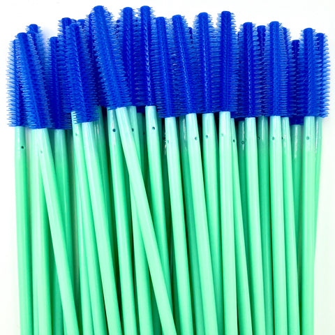 50% OFF Mint/Blue Silicone Mascara Spoolie Wands