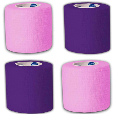 4 Pack PINK + PURPLE Hand Piece Wrap