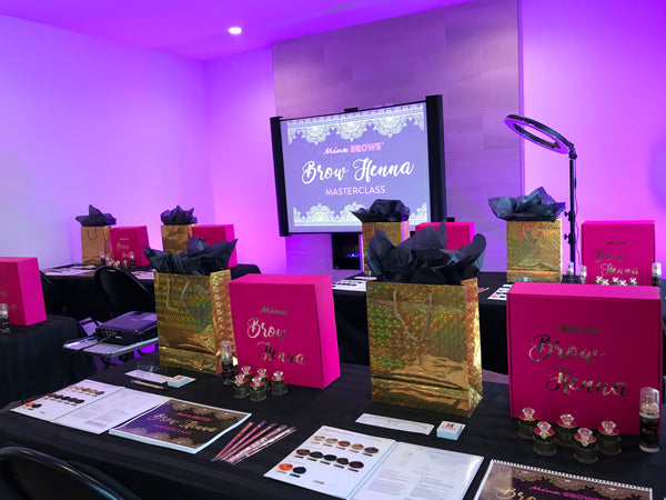 $330 OFF ONLINE Minx Brows HENNA MASTERCLASS - DELUXE Tool Kit Included