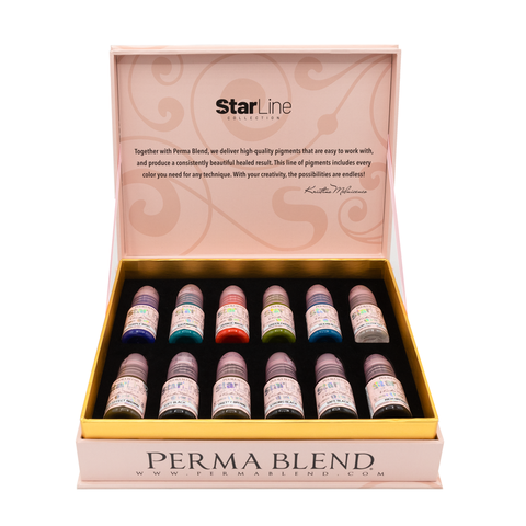 Starline Collection Eyeliner Pigment Set - Permablend x Kristina Melnicenco