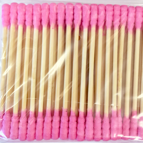 Pink Cotton Tipped Applicators