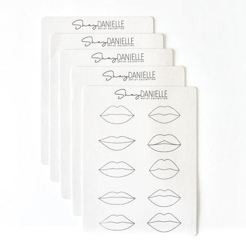 15% OFF NEW DOUBLE SIDED Shay Danielle Exclusive LIP Practice Skin Set