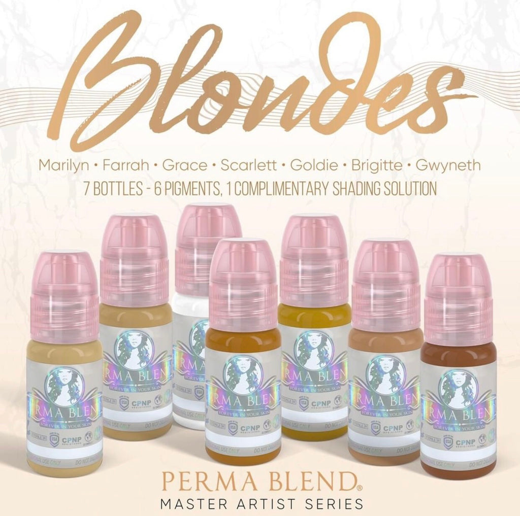 NEW✨BLONDES PIGMENT SET✨ By Permablend