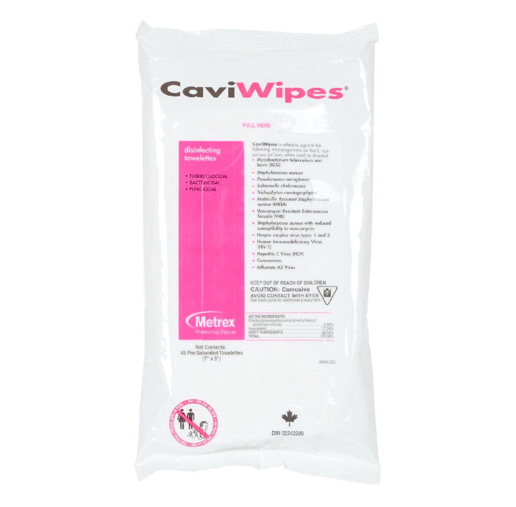 10% OFF! CaviWipes Disinfectant Wipes - Flat Pack