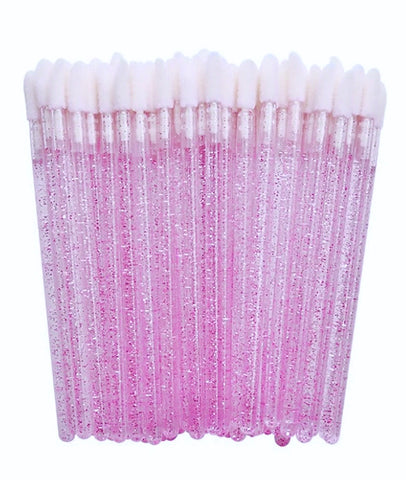 50% OFF PURPLE Glitter Doe Foot Applicator Wands