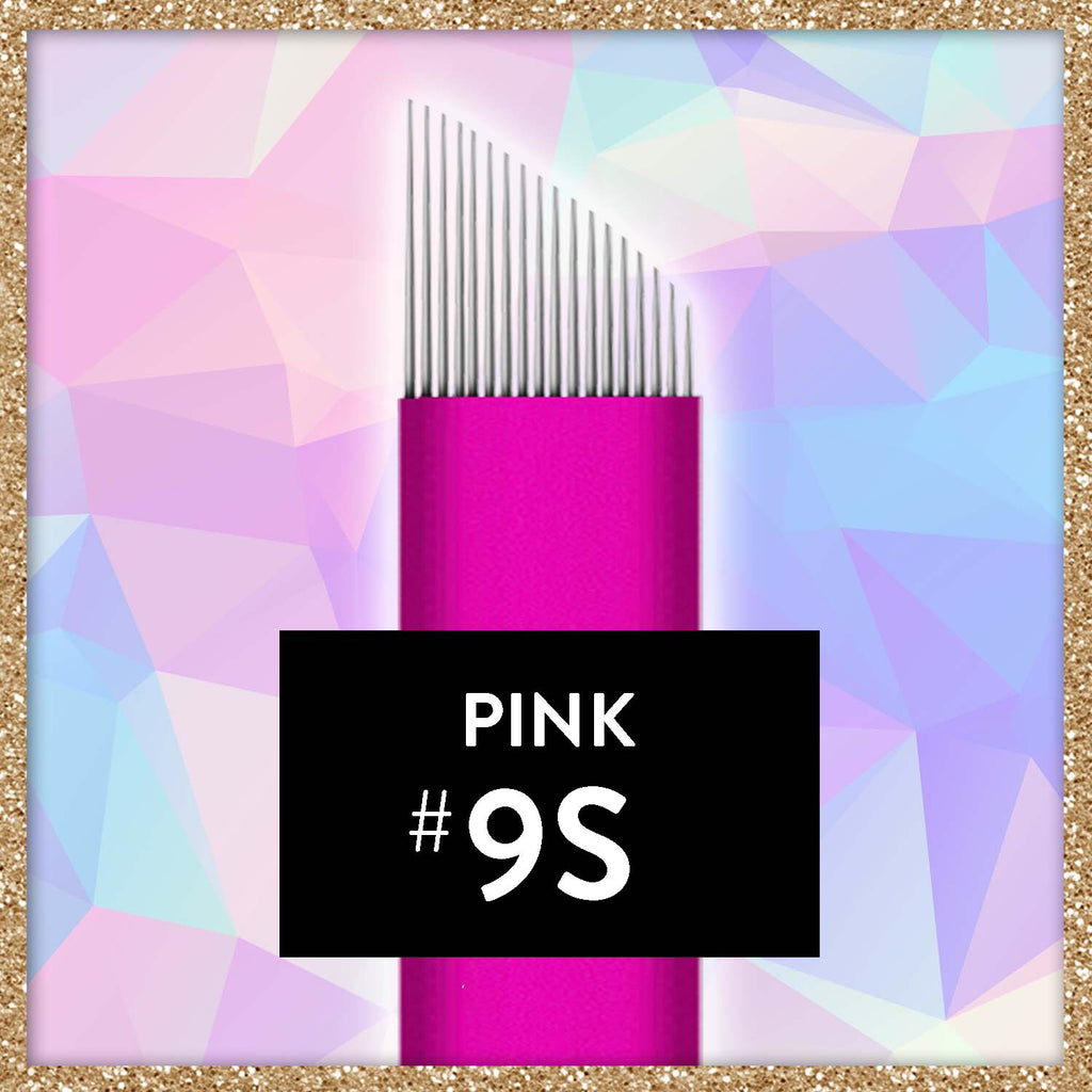 $1 Pink Collection Microblade - 9 Slope