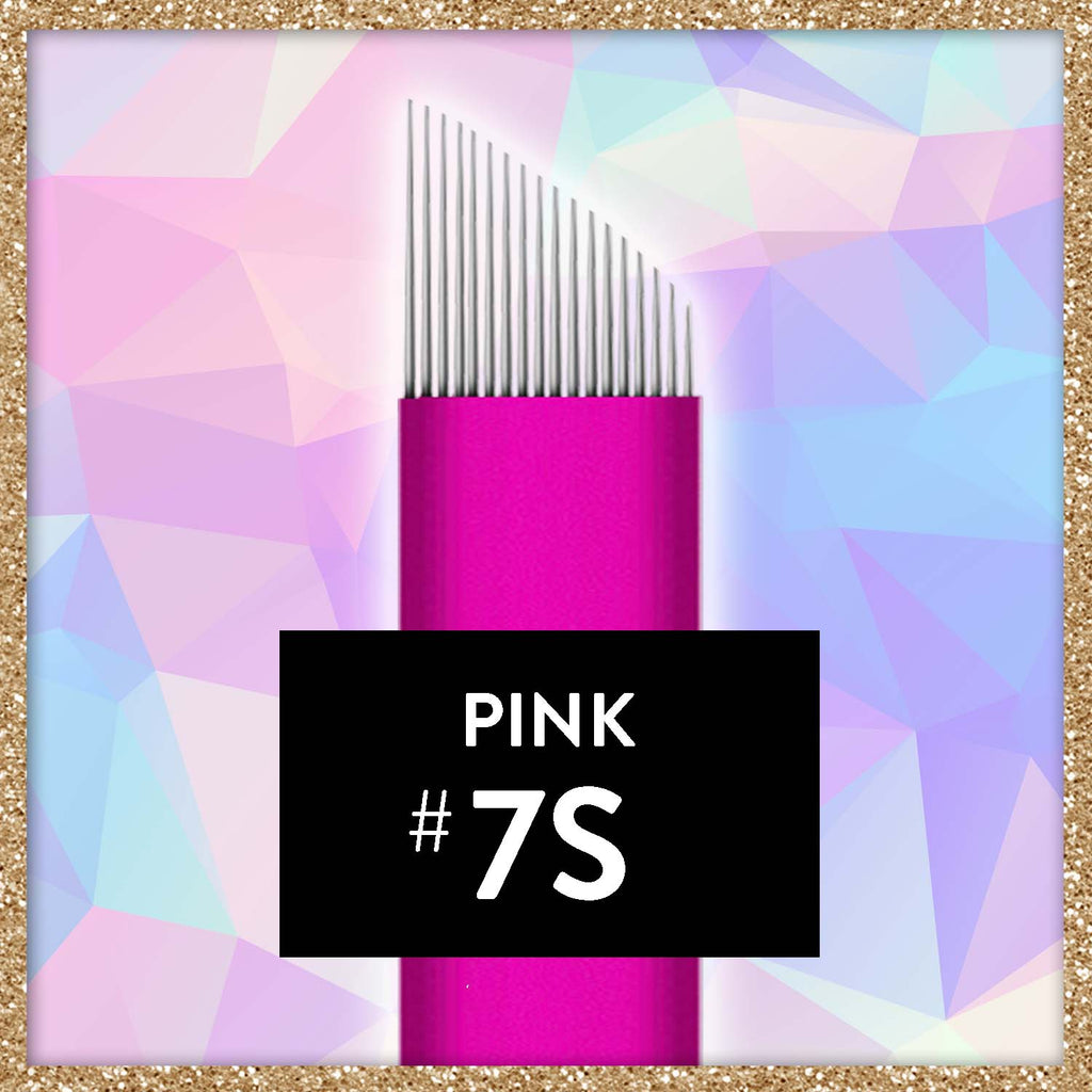 $1 Pink Collection Microblade - 7 Slope
