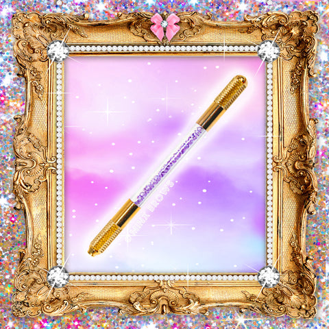 Royalty Collection PURPLE & GOLD Crushed Crystal Microblading Tool