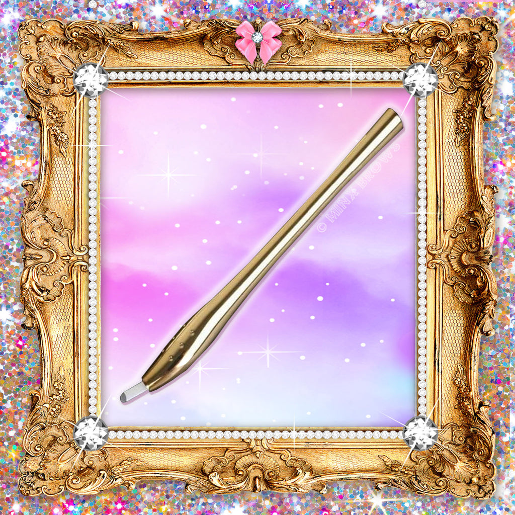 $5 Royalty Collection Gold Disposable Microblading Tool #12S