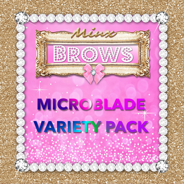 Pink Collection Microblade Variety Pack