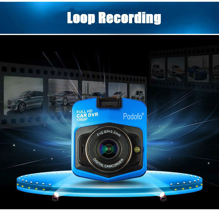 GT300 HD Dash Camera Loop Recording