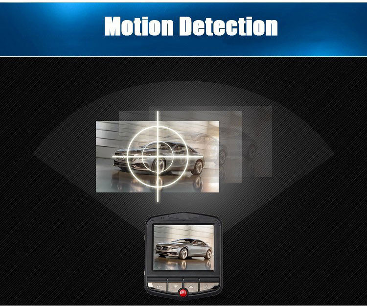 GT300 HD Dash Camera Motion Detection