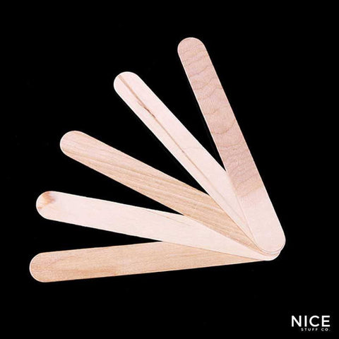 Wooden Waxing Sticks (50pcs)