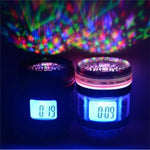 Dreamland™ Camera Lens Digital Clock / LED Starry Sky Projector / Musical Night Light
