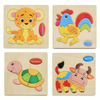 Image of JuniorEinstein™ Wooden Animal Puzzle