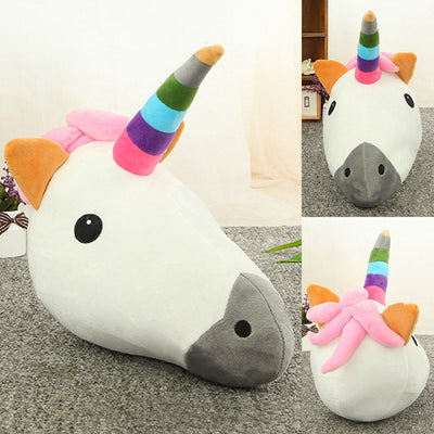 Mr. Corn the Unicorn Pillow (32cm x 39cm)