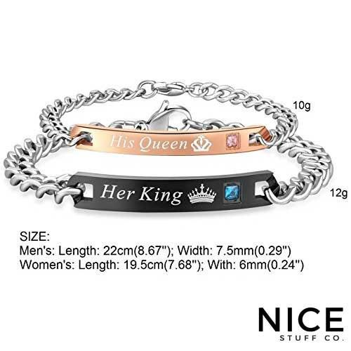 His Queen Her King Bracelet