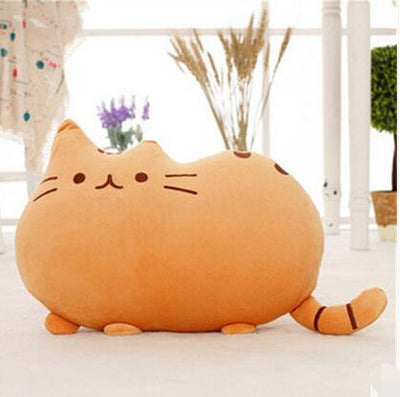 Fluffy Pusheen Cat Pillow