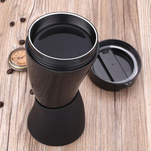 Goat's Horn Thermos Coffee Mug