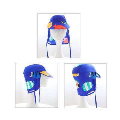 SunShield™ Kids UV Protection Flap Cap