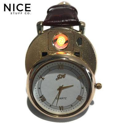 2017 Amazing USB Lighter Watch