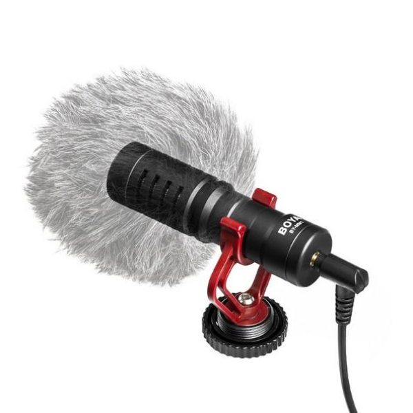 Compact On-Camera Cardioid Microphone