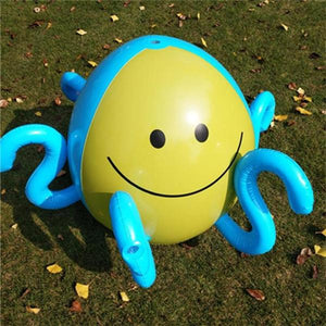 BlowUP™ Spraying Water Inflatable Octopus