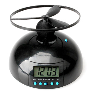 Flying Digital Alarm Clock