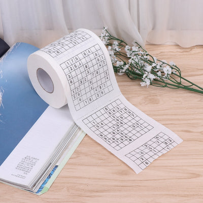 EcoPlay™ Sudoku Puzzle Toilet Roll