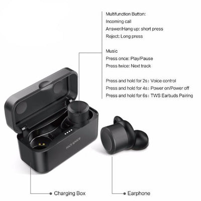 Box Charging Wireless Earbuds