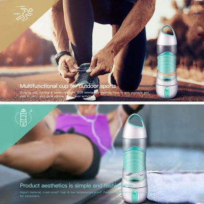Multifunction Sports Water Bottle